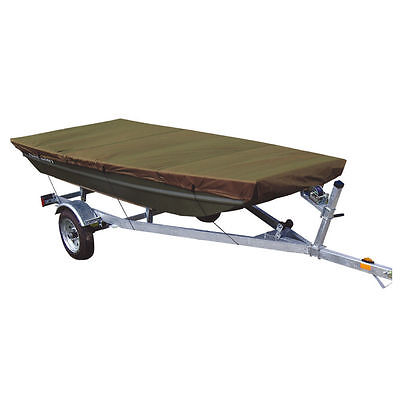 Leader Accessories Olive Jon Boat Cover Fits to 10ft Beam Width to 48''