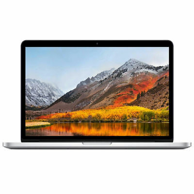 "Apple MacBook Pro 13.3"" Retina 2.70GHz 8GB RAM 128GB SSD MF839LL/A 2015"