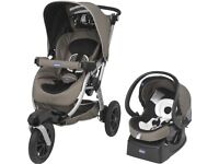 Chicco Activ3 Stroller/Pram with Auto Fix Fast Car Seat