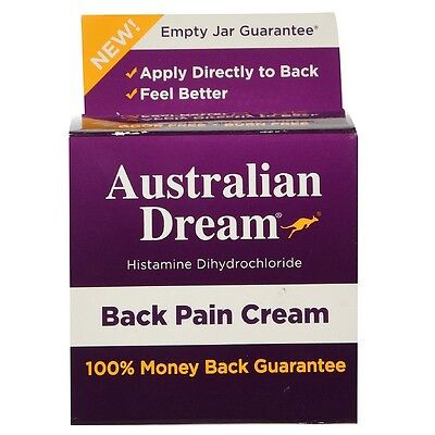 Australian Dream Back Pain Cream 2 oz