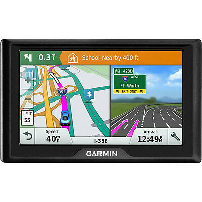 """Garmin Drive 51 LM 5"""" GPS with United States Lifetime Map Updates in Black"""