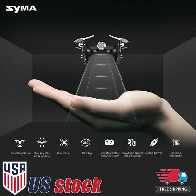 SYMA X20 Pocket Mini Drone RC Quadcopter 2.4Ghz 4CH Altitude Hold Headless Mode