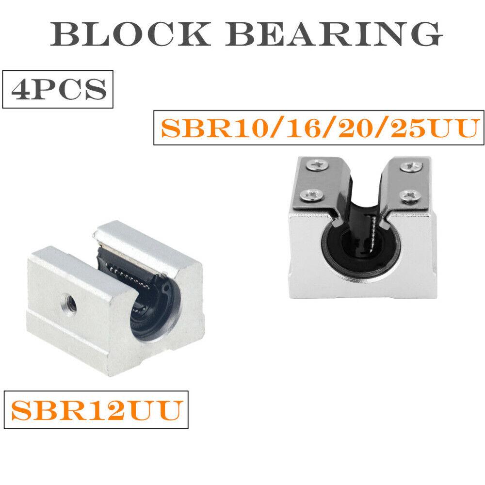 SC10i Lagerblock mit Igus DryLin® RJMP Linearlager Gleitlager statt SC10UU CNC