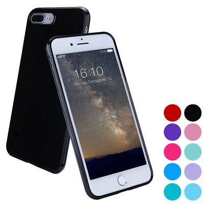 For Apple iPhone 5S 5 Case Silicone Bumper Gel Soft TPU Jelly Cover Rubber (Apple Iphone Silicone Skin Case)