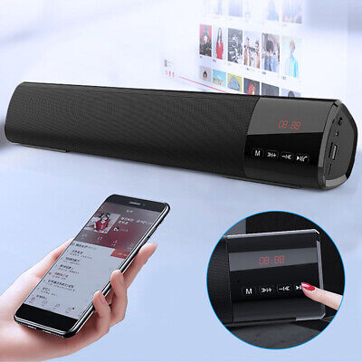 Bluetooth Speaker Wireless Microphone Outdoor Stereo Bass USB/FM Radio BEST SELL