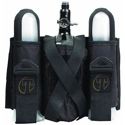 Tippmann Sport Series Paintball Pack / Harness - 2+1 - Black - T399005