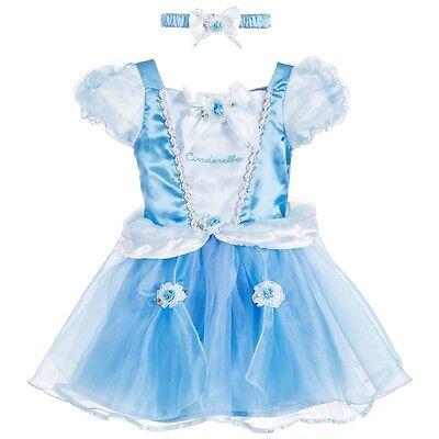 Offiziell Baby Kleinkind Disney Boutique Cinderella Prinzessinnenkleid Bloomers ()