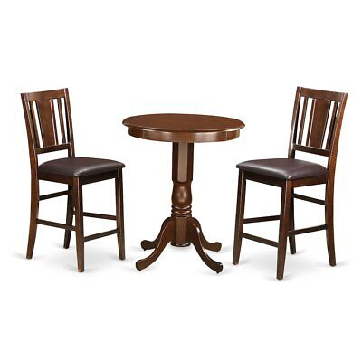 3  Pc  pub  Table  set  -  high  Table  and  2  Kitchen  bar