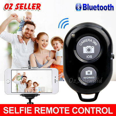 Wireless Bluetooth Remote Control Camera Shutter for iPhone X iPad Samsung S9