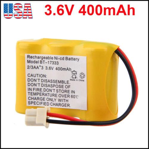 3.6V 400mAh Cordless Phone Battery Vtech BT-17333 BT-27333 BT-163345 BT1733 USA