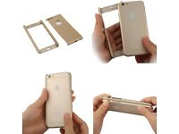 iPhone 5 5s 360 full protection cover tempered glass