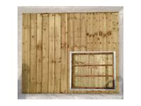 A & T FENCING 6FT X 6FT £26 ....... 6FT X 5FT £25 .... PRESSURE TREATED FULLY FRAMED