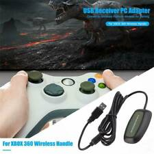 PC USB Gaming Receiver Wireless Controller For Xbox 360 Console Adapter c