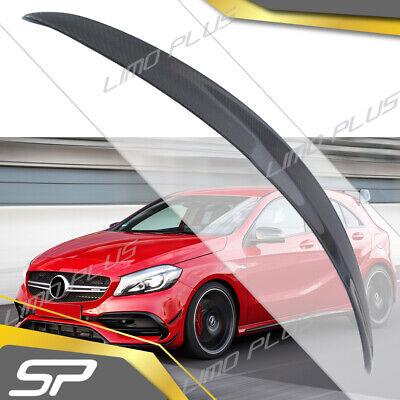Carbon Fiber Heckspoiler Flügel Spoiler für Mercedes Benz A Kl. W176 AMG 13 - 18