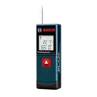 Bosch Blaze 65 Ft. Laser Distance Measurer Glm 20 X Brand New Sealed