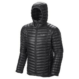 MOUNTAIN HARDWEAR Ghost Whisperer Hooded Down Jacket (medium size)
