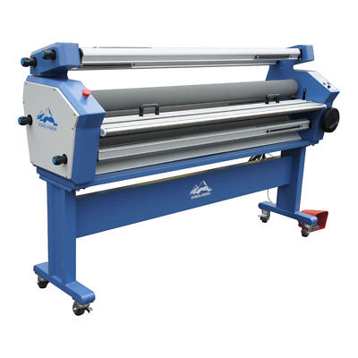 Us Qomolangma 63 Full-auto Wide Format Cold Laminator With Heat Assisted Ce Fda