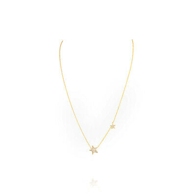 Gorjana Super Star Shimmer Two Tone 17.25 inches Necklace 191211102G