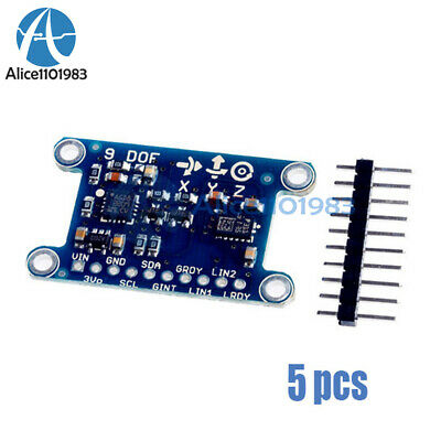 9-axis Imu L3gd20 Lsm303d Module 9dof Compass Acceleration Gyroscope For Arduino