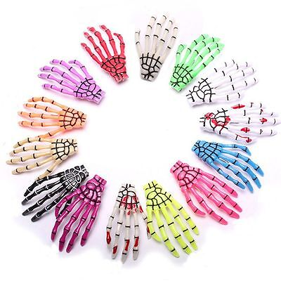 Creative Design Ghost Skeleton Halloween Hair Clips Claw Hairpin Hand - Halloween Skeleton Hair