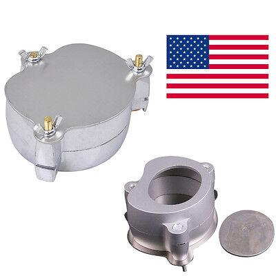Usa Dentist Dental Lab Equipment Aluminium Denture Flask Compressor Parts Fda