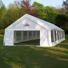 Marquee for sale. Including plywood floor and full lining.