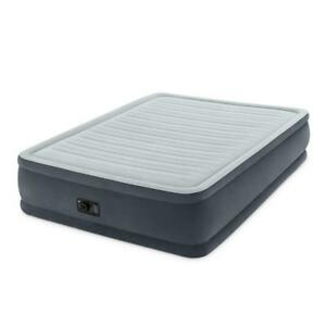 """NEW Intex Comfort Plush Elevated Dura-Beam Airbed, Bed Height 18"""", Queen Condition: New"""