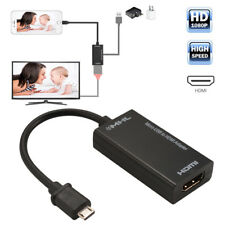 Mini Micro USB 2.0 MHL To HDMI Cable HD 1080P For Android Smartphones AC1075
