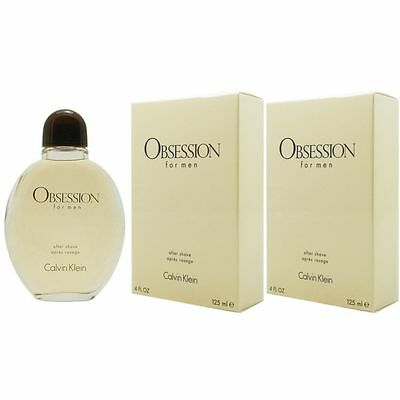 Calvin Klein Obsession for Men - Man 2 x 125 ml After Shave