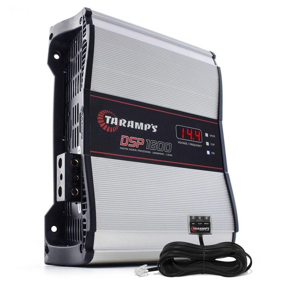 Taramps BASS1200 1 OHM 1 Channel Amp 1200 watts w// warranty in the USA