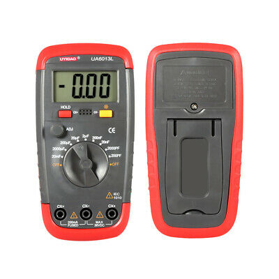 Digital Capacitor Capacitance Tester Meter With Lcd Backlight Date Hold Function