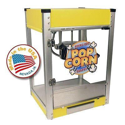 Paragon Cineplex 4 Ounce Popcorn Machine Yellow