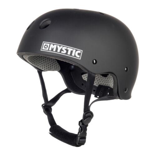 MYSTIC MK8 Helmet Wassersport Surf Kite Wakeboard Kanu Kajak Wake Helm BLACK