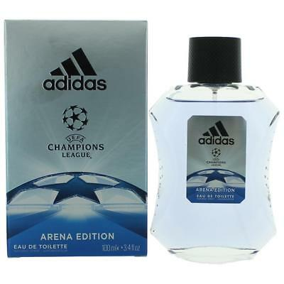 Adidas Mens Edt Spray - Adidas UEFA Champions League Arena Edition 3.4oz EDT Spray men NEW IN BOX