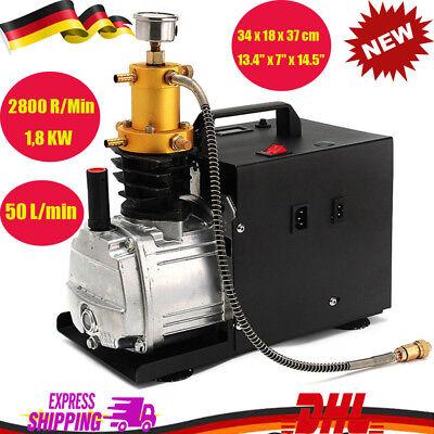Bomba De Aire compresor eléctrica de alta presión PCP Compresor Rifles De...
