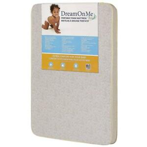 NEW Dream On Me 3-Inch Foam Graco Pack N Play Mattress Condition: New
