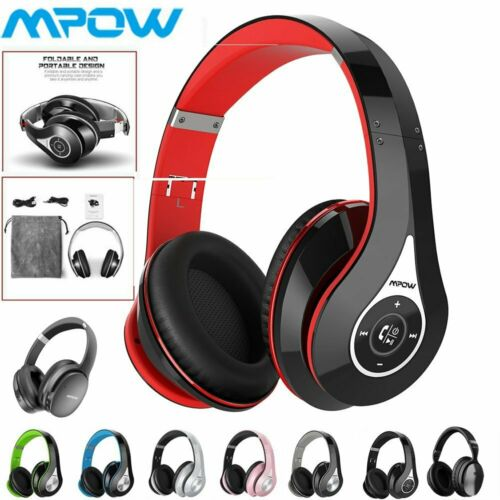 Mpow 059 Wireless Bluetooth Headphones Over Ear Stereo Earph