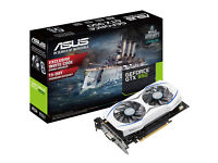 ASUS NVIDIA GEFORCE GTX 950 2GB DDR5 6610MHz VIDEO GRAPHICS CARD - DVI & HMDI