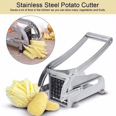 French Fry Cutter Stainless Steel Vegetable Potato Slicer