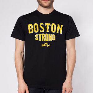 BOSTON-B-STRONG-2013-bruins-hockey-style-pd-team-BLACK-MENS-LARGE-T-SHIRT-Ebsb