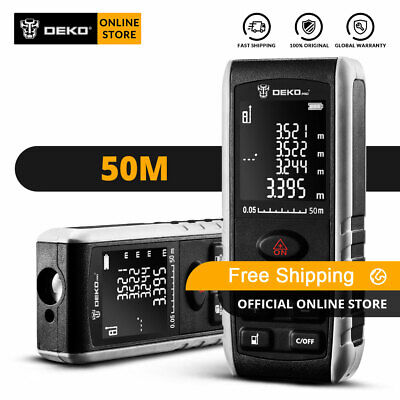 DEKO 164ft laser distance measuring device continuous electronic measuring tool