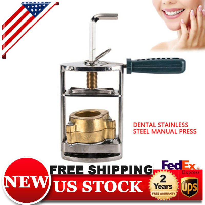 For Dental Lab Stainless Steel Denture Model Press Pressure Polymerizer Machine