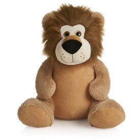 HUGE Brown Big Lion SOFT TOY TEDDY Plush 85cm Long