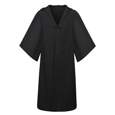 Authentic Replica Adult Young Hermoine School Uniform Black Robe with Badges](Authentic Harry Potter Robes)