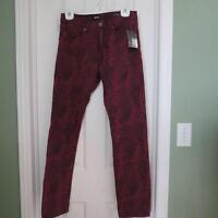 Brand new patterned skinny jeans