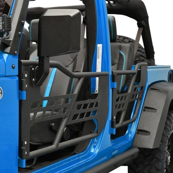 1 of 3 & Jeep JK Wrangler Safari Tube Doors with mirrors- BRAND NEW   Auto ...
