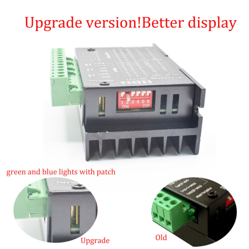 TB6600 Driver CNC Controller 4A 9-42V Stepper Motor US STOCK USPS free shipping