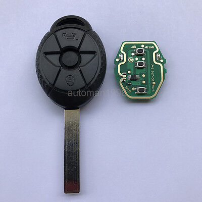 Replacement 3B Remote Key For BMW MINI Cooper 433MHz/315MHZ ID44 chip EWS system