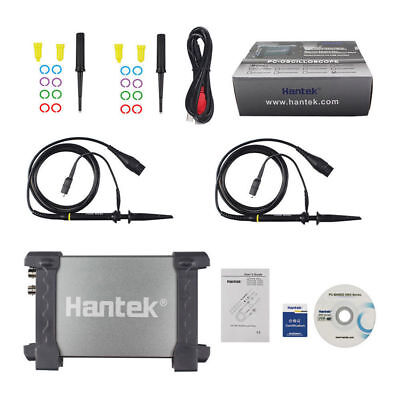 Hantek 205080100200mhz Pc 2ch Usb Digital Storage Oscilloscope 48-250msas