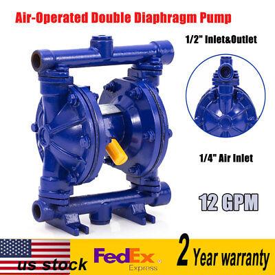 Air-operated Double Diaphragm Pump 12inch Outlet Low Viscosity Petroleum Fluids